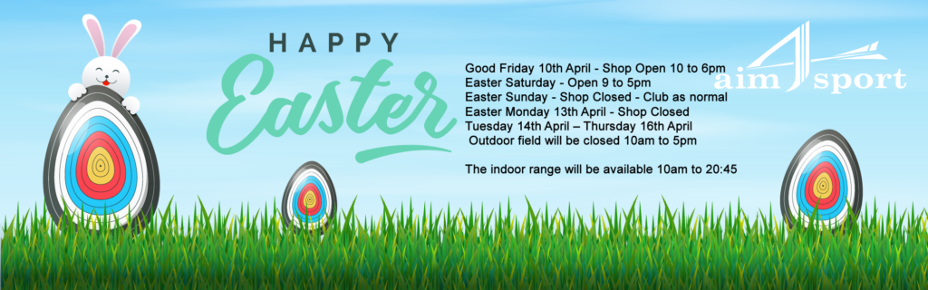 Easter 2020 Opening Times